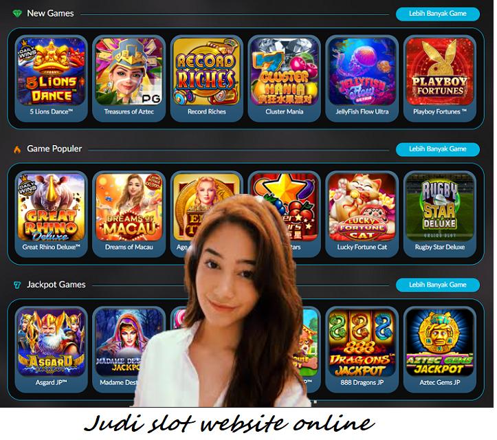 Judi slot website online